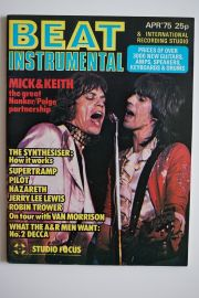 Beat Instrumental Magazine - Apr 75 - Jagger/Richards
