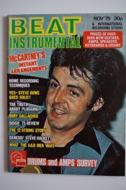 Beat Instrumental Magazine - Nov 75 - McCartney