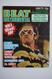 Beat Instrumental Magazine - Jan 75 -Elton John