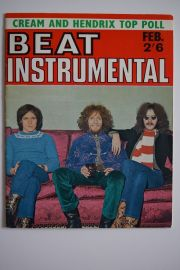 Beat Instrumental Magazine - Feb 68 - Cream