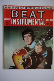 Beat Instrumental Magazine - Aug 65 - Donovan Cover