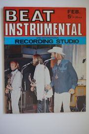 Beat Instrumental Magazine - Feb 71 - The Beach Boys