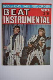 Beat Instrumental Magazine - Sept 66 - Troggs Cover - Page/Marvin
