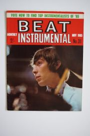 Beat Instrumental Magazine - Nov. 65 - Charlie Watts cover