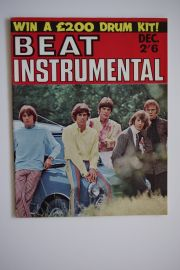 Beat Instrumental Magazine - Dec 67 - Bee Gees cover