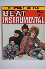 Beat Instrumental Magazine - Dec 68 -Ten Years After Cover