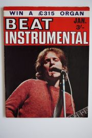 Beat Instrumental Magazine Jan 69 - Jack Bruce cover