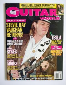 Guitar World Magazine - July 89 - SRV