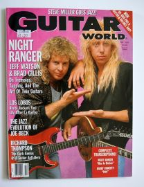 Guitar World Magazine - Feb 89 - Night Ranger