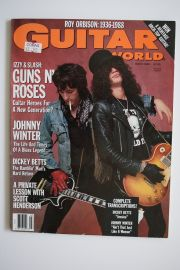 Guitar World Magazine - March 89 - Izzy & Slash