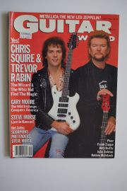 Guitar World Magazine - Sept 87 - Chris Squire/TrevorRabin