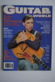 Guitar World Magazine - Nov. 83 - Townshend/Iron Maiden