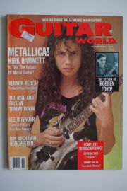 Guitar World Magazine - Nov.88 - Kirk Hammett