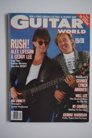 Guitar World Magazine - Apr 88 - Rush