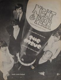 Night of Fear Sheet Music - The Move