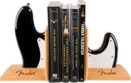 Fender Bass Body Bookends - Black