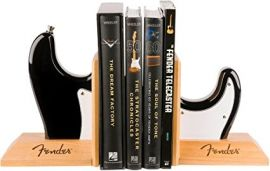Fender Stratocaster Bookends - Black