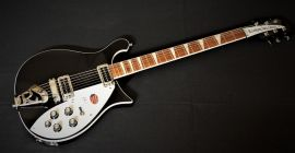 Rickenbacker 620 Jetglo inc case
