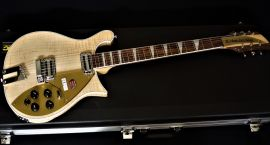 Rickenbacker 660 with case - Mapleglo