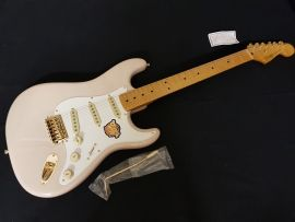 Fender Squier Strat 50`s Blonde with gold hardware