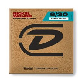 Dunlop Nickel Tenor Banjo Strings - Pack of 4 (DJN0930)