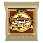 Ernie Ball Earthwood Extra Light 80/20 Bronze Acoustic Set (.010 - .050)