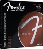 Fender 7250L Strings for Guitar (0.040 - 0.100)