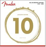 Fender 80/20 Bronze Acoustic Strings