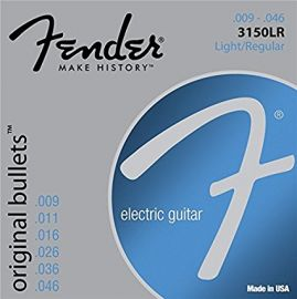 Fender Strings for Guitar - .009 - .046 (3150LR)