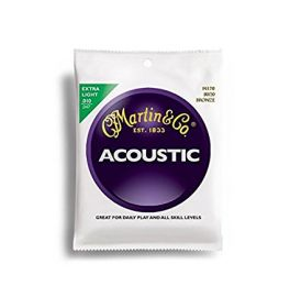 Martin Extra Light Acoustic Guitar Strings (M170)