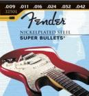 Fender  Nickel Plated Super Bullets Electric Guitar Strings 09-42