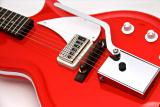 Supro Belmont Vibrato Electic Guitar ~ Poppy Red