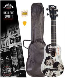 The Cavern Club - Fab Faces - Ukulele Outfit (CVUK02)
