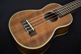 Kala Mahogany Soprano Long Neck Ukulele -  Gloss finish with binding