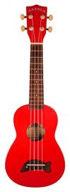 Makala Soprano Ukulele - Candy Apple Red