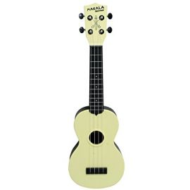 Makala Waterman Ukulele - Pale Yellow