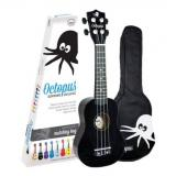 Octopus Soprano Ukulele - Mixed box of 20