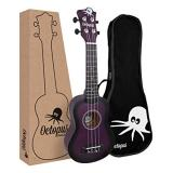 Octopus Soprano Ukulele - Matt Purple Burst (UK200D-PUB)