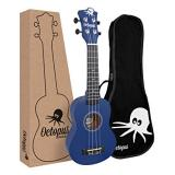 Octopus Soprano Ukulele - Dark Blue (UK200D-DB)