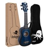Octopus Soprano Ukulele - Dark Blue Burst (UK200D-DBB)