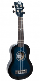 Octopus Soprano Ukulele - Dark Blue Burst - Inc Bag