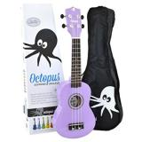 Octopus Soprano Ukulele - Violet - Inc Bag