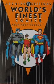 Worlds Finest Comics Archive - DC Annual - Hardback - Volume 1 - Featuring Superman and Batman