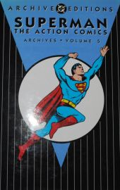 Superman Archives from Action Comics - DC Annual - Hardback - Volume 5